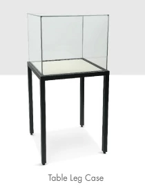 Frank Demountable Table Leg Display Case