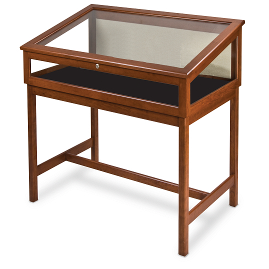 Gaylord Archival® Sedgwick™ Angled-Top Exhibit Case with LED Lighting