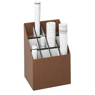 Safco® 12-Compartment Roll Storage