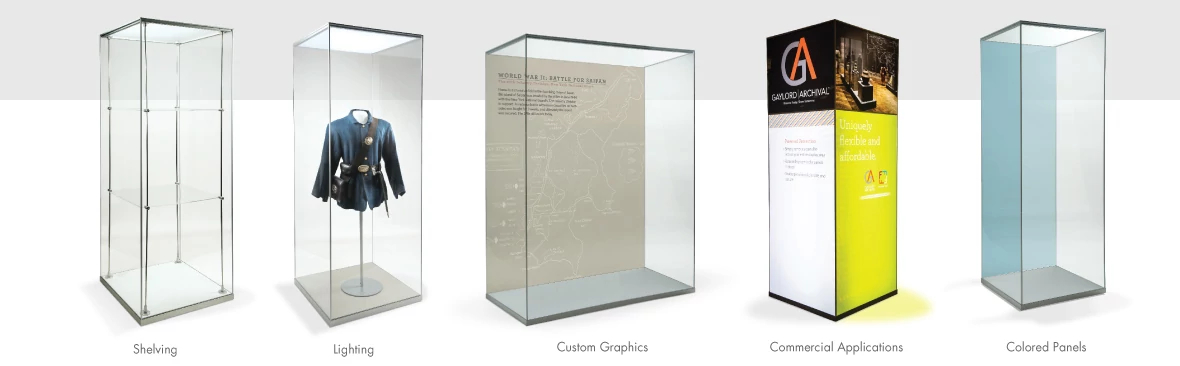Shelving, Lighting Custom Graphics, Commercial Applications, Colored Panels - the custom options are virtually endless!
