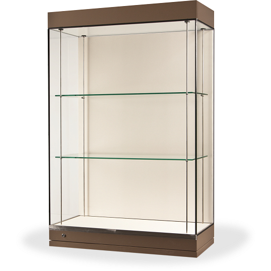 Gaylord Archival® Curator™ Gallery Museum Case with LED Light Hood