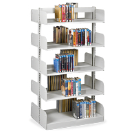 "Estey 78""H Double-Faced Cantilever Steel Shelving"