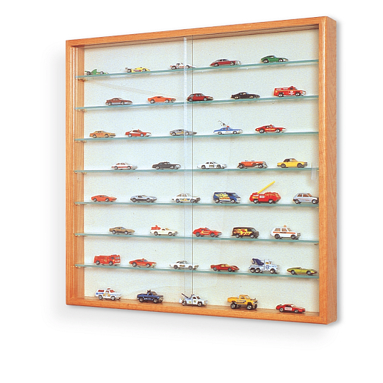 Waddell Collector's 7-Shelf Wall-Mount Exhibit Case