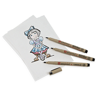 Sakura® Pigma® Graphic Pens (3-Pack)