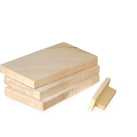 Wood Stamp Pads (3-Pack)