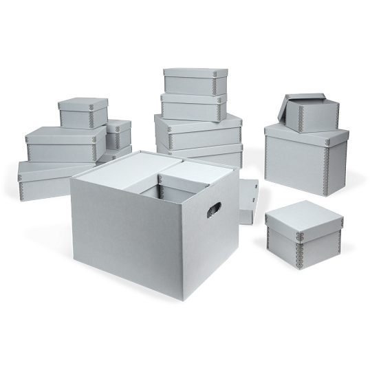 Gaylord Archival® Blue Nesting Storage Boxes