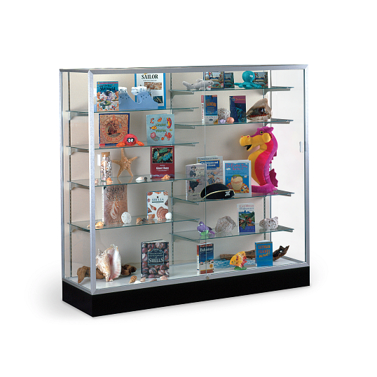 Waddell Colossus Exhibit Case with Fabric Back
