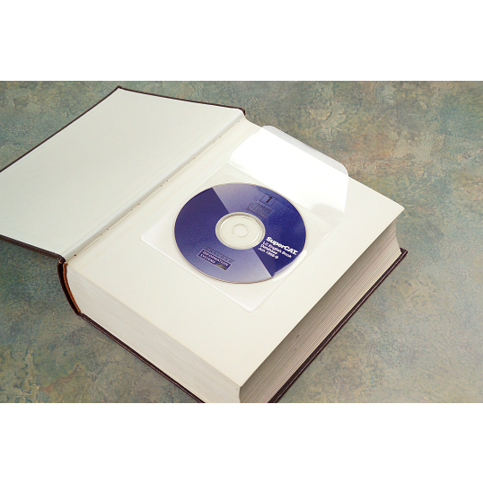 5 mil Polypropylene CD Pockets (10-Pack)