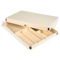 Gaylord Archival® Light Tan E-flute Board Lid Modular Box System