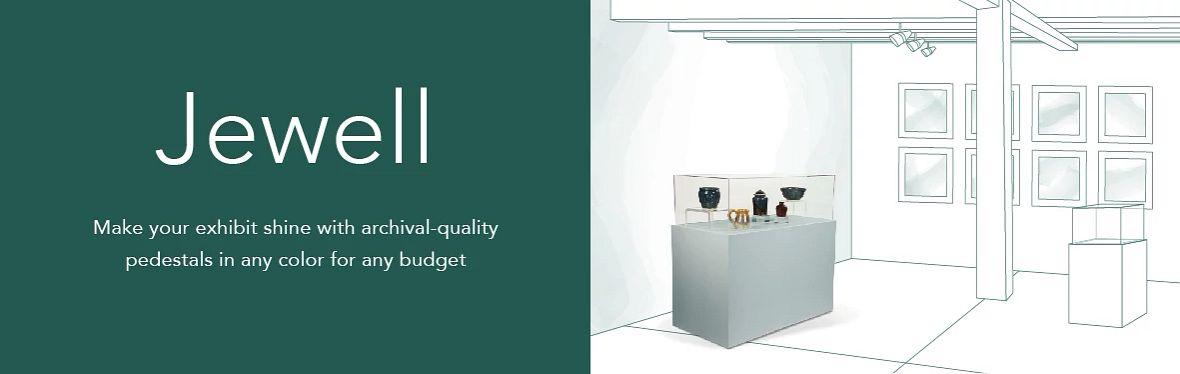 Gaylord Archival® Jewell™ Showcases & Pedestals