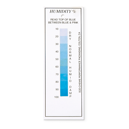 Standard Humidity Indicator Cards (5-Pack)