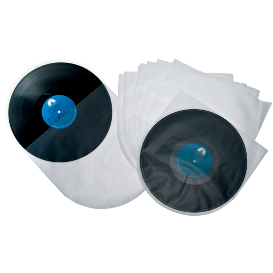 "2 mil Polyethylene 12"" LP Record Envelopes (50-Pack)"