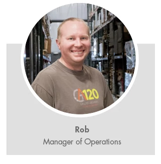 Rob, Manager of Operations