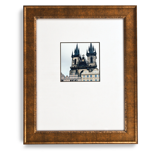 Gaylord Archival® Distressed Gold Sonoma Collection Wood Frame Kit