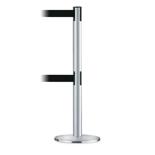Tensabarrier® Dual Belt Traffic Control Post
