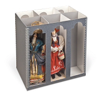 "Gaylord Archival® 9"" International Doll Box"
