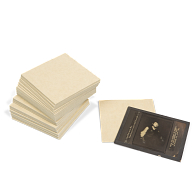 Gaylord Archival® Tan Barrier Board Lantern Slide Dividers (50-Pack)