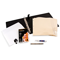 "Gaylord Archival® 1 1/2"" D-Ring Photo Album Kit"