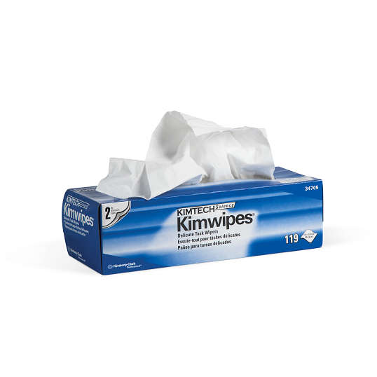 "KIMTECH® 12 x 12"" Low-Lint Kimwipes® (90-Pack)"