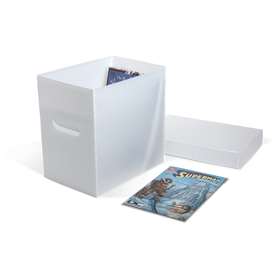 Gaylord Archival® Corrugated Polypropylene Comic Book Box