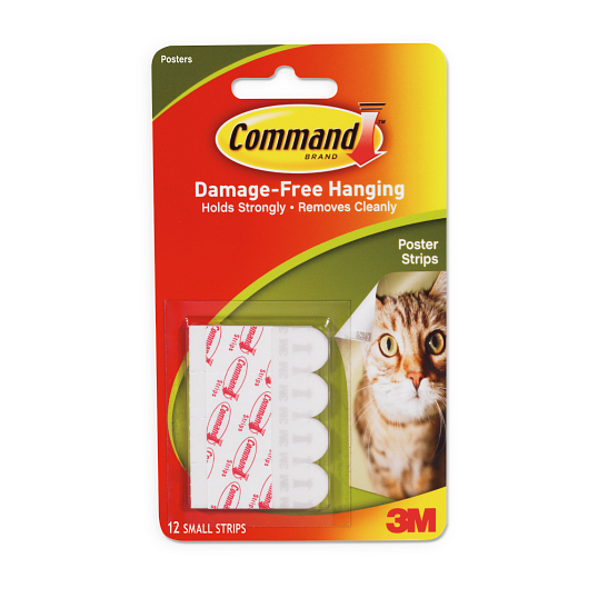 Command™ Poster Strips (12-Pack)
