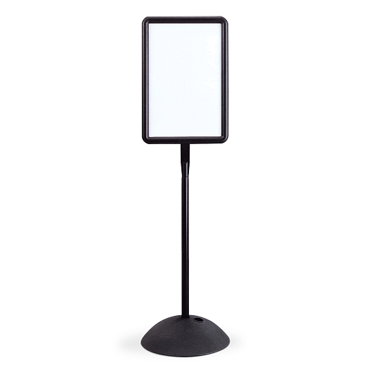 Safco® Write Way® Indoor Double-Sided Rectangle Message Board Stand