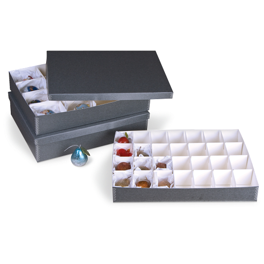 Gaylord Archival® 28-Compartment Ornament Box