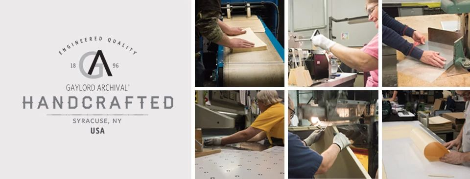 Engineered Quality: Gaylord Archival Handcrafted