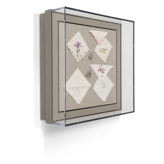 Gaylord Archival® Metro™ Madison Hinged Wall-Mount Case