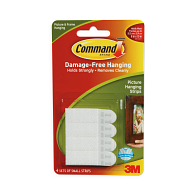 Command™ Picture Hanging Strips (Pack of 4 Sets)