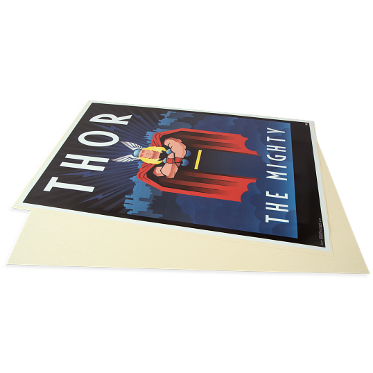 "Gaylord Archival® 22 x 34"" 20 pt. Marvel Poster Backer Boards (25-Pack)"