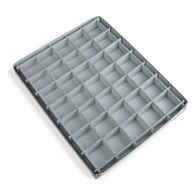 Gaylord Archival® 35-Compartment Blue Artifact Tray