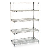 Metro Super Adjustable Wire Shelving Starter Unit