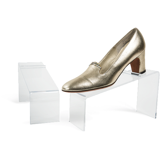 Acrylic Shoe Display Riser (Set of 2)