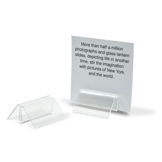 Acrylic Narrow Pinch Clips (12-Pack)