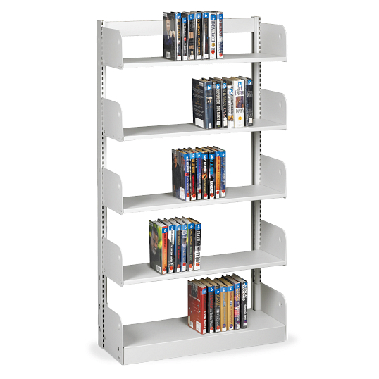 "Estey 78""H Single-Faced Cantilever Steel Shelving"