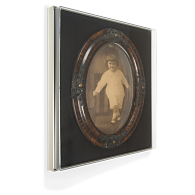 Gaylord Archival® Avant Wall-Mount Case with Laminate Deck