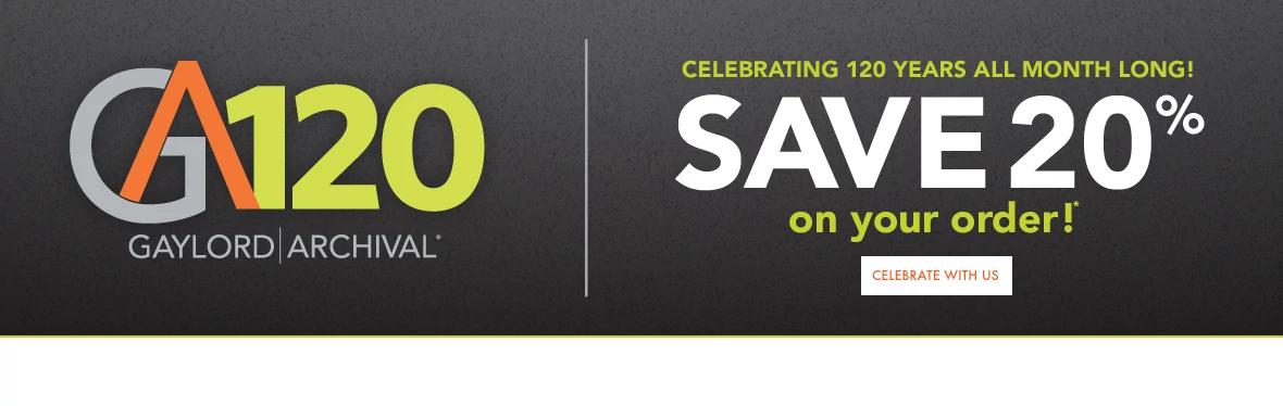 GA120 Anniversary Sale