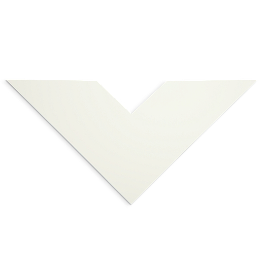 Rising Buffered Warm White Museum Matting & Mounting Board