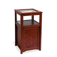 Gaylord Archival® Eastwood™ Locking Cabinet Base Exhibit Case