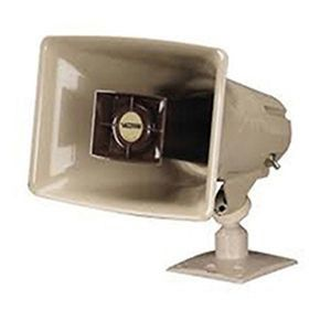 One-Way 5 Watt Reenterant Horn Loudspeaker, Beige