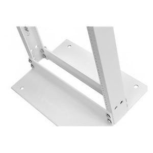 Standard Rack 3 in. D (80 mm), 7 ft. H (2.1m) x 19 in. W (483 mm), Grounded, UL Listed, Glacier White