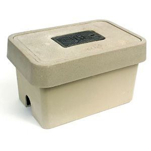Quazite® PG Style Enclosure Base, Polymer Concrete, Standard Open Bottom, 30 x 48 x 36 in.