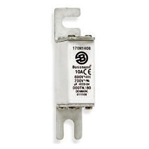 Square Body DIN 43 653 High Speed Fuse With Visual Indicator, 160A, 690V/700V (IEC/UL)