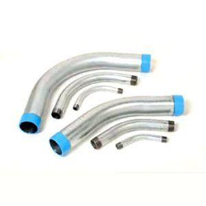Hot-Dip Galvanized Steel 45-Degree Rigid Conduit Elbow, 2-1/2 in.