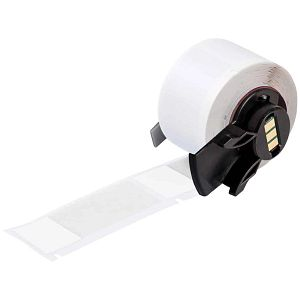 TLS 2200® Self-Laminating Vinyl Labels, 1.000 in. x 2.500 in., White/Translucent