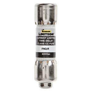 Limitron™ FNQ-R Series Class CC Time Delay Fuse, Rejection-Type, Current-Limiting, 17-1/2A, 600V
