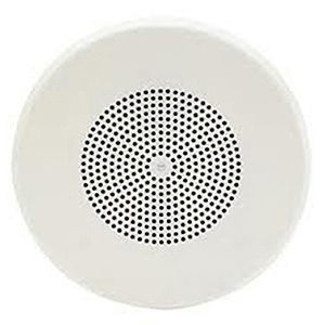 8 inch Dual Input Round Ceiling Speakers, White