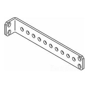 Stand-Off Tie Bracket, 0.88 in. H (22.4 mm) x 1 in. W (25.4 mm) x 6 in. L (150 mm), Gray