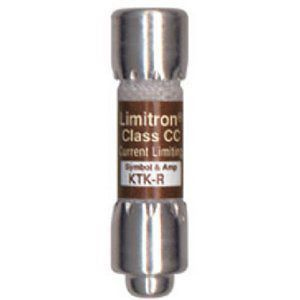 Limitron™ KTK-R Series Class CC Fast Acting Fuse, Rejection Type, Current-Limiting, 1A, 600V